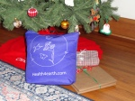 Gifts in reusable shopping bags