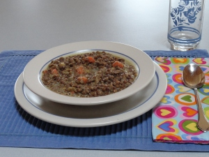 Lentil Stew for Meatless Monday