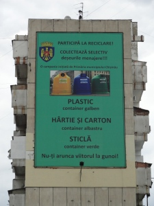 Recycle Campaign in Moldova