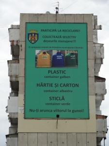 Recycle Campaign in Moldova