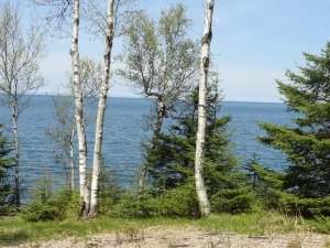 Lake Superior in May