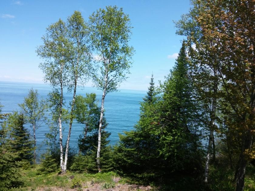 Lake Superior in June