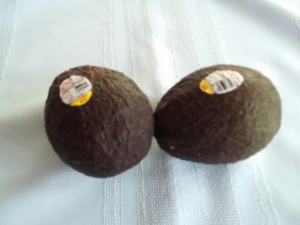 """The stickers on avocados say where they are grown. Say """"No"""" to Mexican avocados!"""