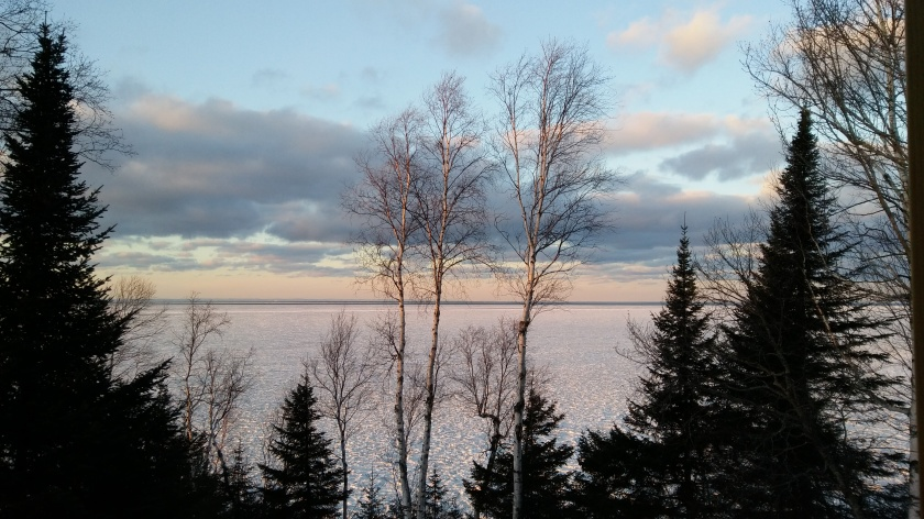 Lake Superior on February 3,