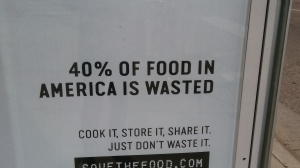 Too much food is waste!