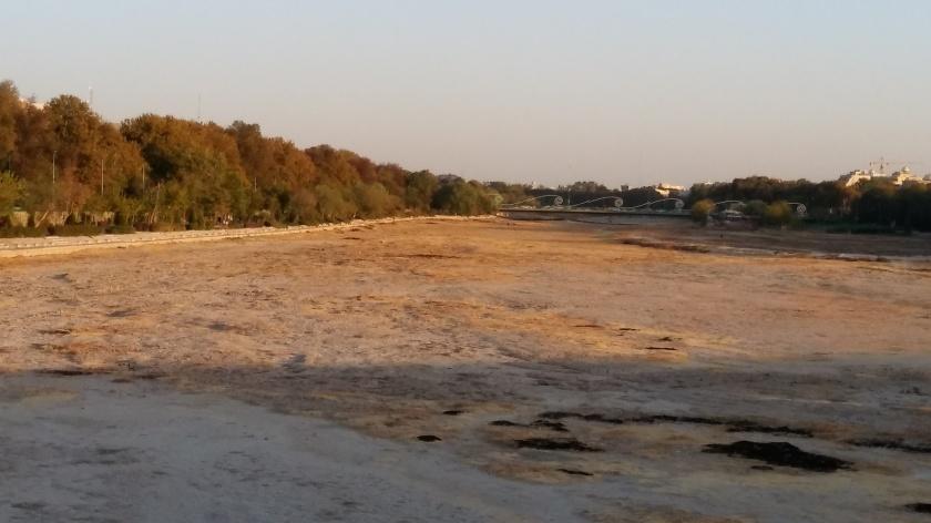 Tehran river bed
