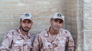 Soldiers in Iran