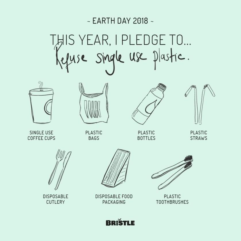Be plastic free