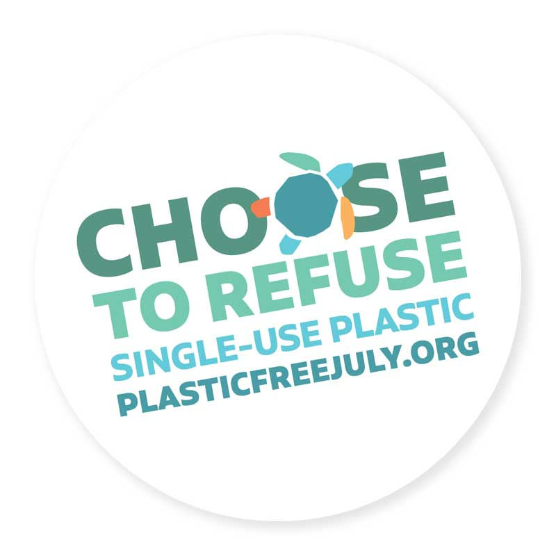 July is plastic-free month