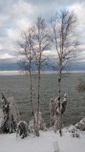 Lake Superior in December